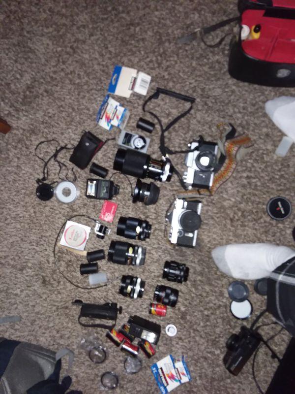 Cameras and more