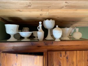 Milk glass collection for Sale in Issaquah, WA