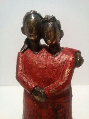 Genesis Fine Arts Bronze Sculpture Signed Numbered. Made in Ireland for Sale in Lorton, VA