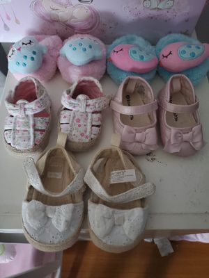 Baby girl shoes for Sale in Los Angeles, CA