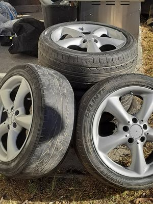 """Mercedes Benz tires and wheels size 17"""" for Sale in Hollister, CA"""