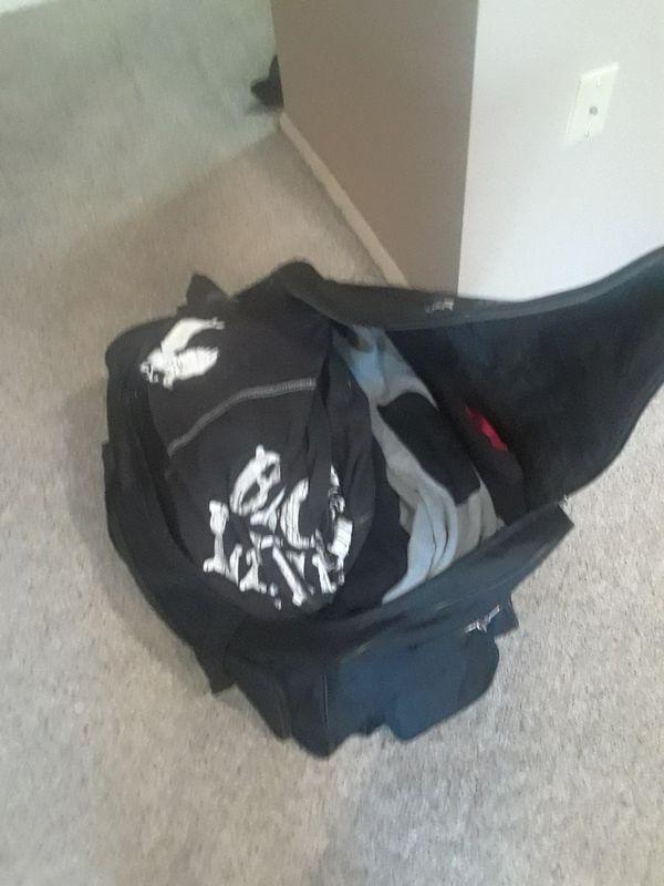 Duffle bag of BIG Men clothes