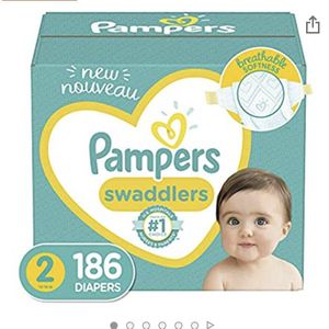 Diapers Pampers 186 Size 2 12-18 Pounds for Sale in Las Vegas, NV