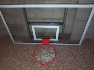 """72"""" in Replacement Goalsetter Basketball Backboard with Hoop (Official NBA Regulations) for Sale in Phoenix, AZ"""