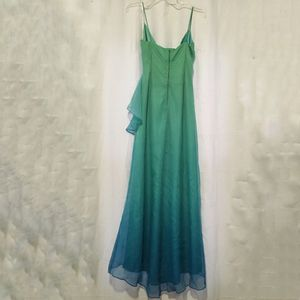 Blue/Green Spaghetti Strap Formal/Prom Dress for Sale in Boston, MA