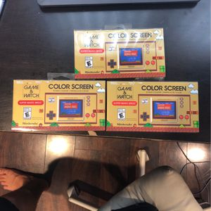 Nintendo Game And Watch Super Mario Bros for Sale in Fort Lauderdale, FL