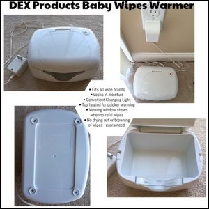Wipes Warmer - pampers wipes included for Sale in Milford, MA