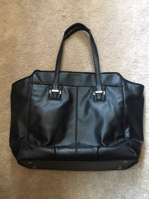 Large black Coach bag for Sale in Commerce City, CO