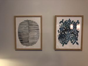 Set of 2 framed wall art for Sale in Chicago, IL