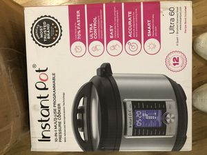 Instant pot 10 in 1 pressure cooker for Sale in Brooklyn, NY