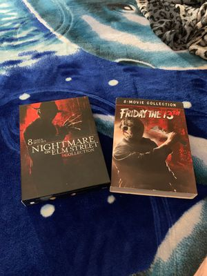 2 movie Packages (Freddy & Jason) for Sale in Rialto, CA