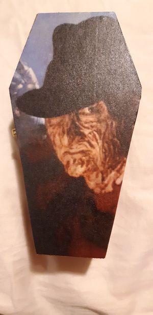 Freddy Krueger coffin box for Sale in Riverside, CA