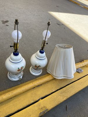 A pair of Antique table lamps for Sale in Fairfax, VA