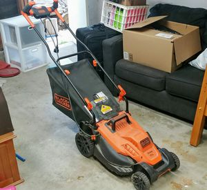 Black & Decker Electric Lawnmower — ONLY USED ONCE for Sale in Cypress, CA