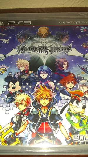 Kingdom Hearts HD 2.5 remix for Sale in Irving, TX
