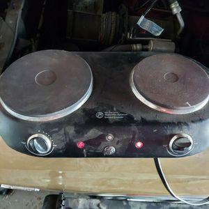 GE Portable Stove for Sale in Colton, CA