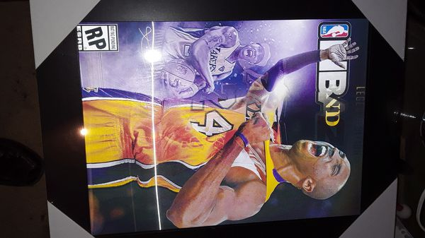 New Kobe Bryant 3-D picture 3 pictures in one $15.00 each