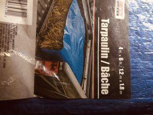 $25/obo brand new tarp still in bag for Sale in Gilbert, AZ