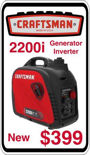 BRAND NEW - Craftsman 1700 watt Quiet Inverter Generator RETAIL $660 - We accept trades & Credit Cards - AzBE Deals for Sale in Peoria, AZ