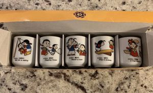 souvenir shot glasses from Korea for Sale in Silver Spring, MD