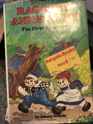 Vintage Raggedy Ann and Andy Book - the First Treasury for Sale in Greensboro, NC