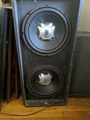 15 inch jbl sub woofer custom box for Sale in Columbus, OH