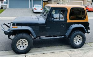 91 Jeep Wrangler YJ 4x4 for Sale in Puyallup, WA