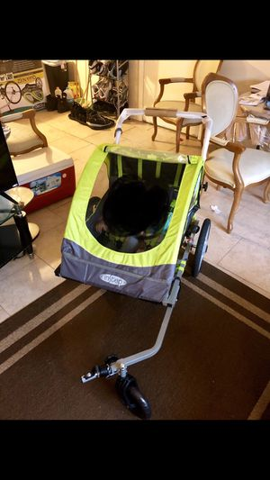 Double bike trailer and stroller for Sale in Everett, MA