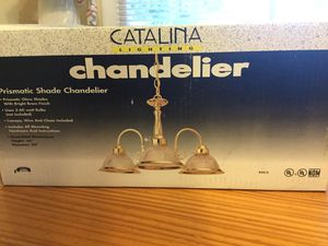 Chandelier Prismatic Shade Catalina Lighting for Sale in San Diego, CA