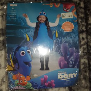 New Finding Dory Costume from Nemo 4 - 6 for Sale in Chesapeake, VA