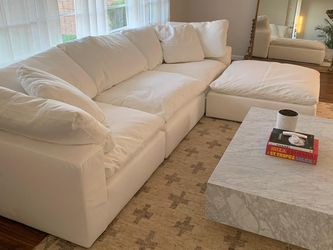 Cloud Modular Sectional Sofa Couch - Stain Resistant - Originally $12,000 for Sale in Los Angeles,  CA