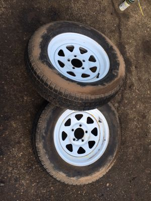 Trailer wheels & tires! for Sale in Portland, OR