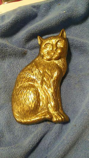 Vintage Brass Cat Doorknocker for Sale in Chesapeake, VA