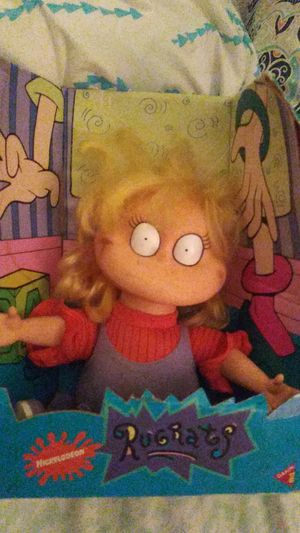 Collectible Nickelodeon Angelica Plush from Rugrats 1994 for Sale in Yardley, PA