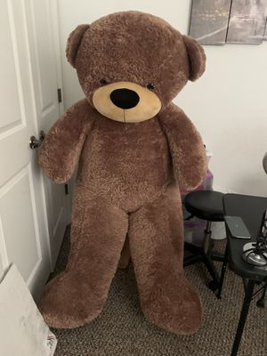 5 ft teddy bear for Sale in Kissimmee, FL