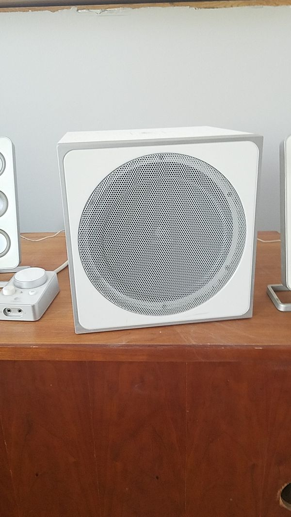 Logitech speakers with Bass
