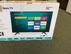 "Brand New Hisense ROKU 32"" TV! Open box w/ warranty S3O76 for Sale in Forney, TX"