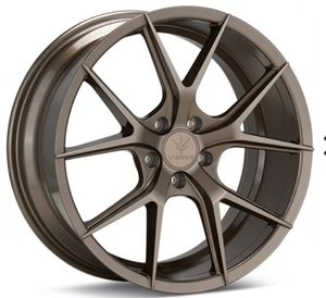 "19"" VERDE "" V99 AXIS "" Bronze staggered with tires. Like brand new condition for Sale in Miramar, FL"
