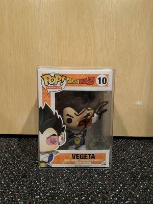 Dragon Ball Z Funko Pop 10 Vegeta SIGNED for Sale in Monroe Township, NJ