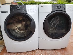 KENMORE ELITE WASHER AND ELECTRIC DRYER SUPERCAPACITY for Sale in Hialeah, FL