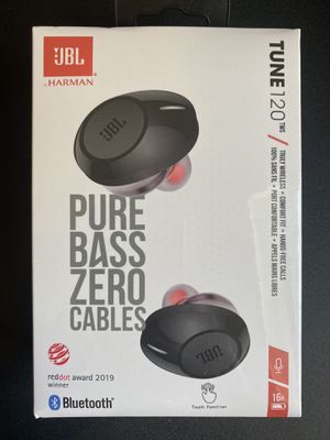 JBL TUNE 120TWS Wireless Headphones Earbuds w/Charging Case (New) for Sale in Miramar, FL