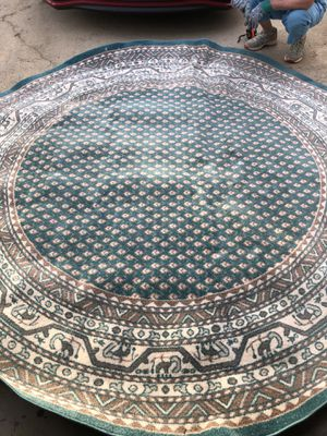 8 foot, Turquoise area rug for Sale in Brentwood, NC