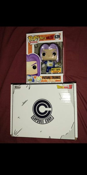 "Dragon Ball Z ""Future Trunks"" Hot Topic Exclusive Funko Pop for Sale in Los Angeles, CA"