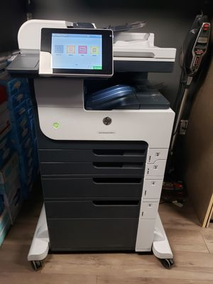 "Hp laser jet mfp m725 b&w laser printer ""mint condition"" low usage for Sale in Port St. Lucie, FL"