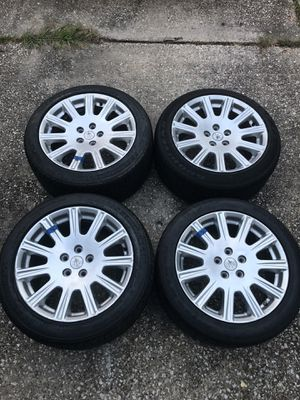 """4 18"""" Maserati Quattroporte Wheels WITH Tires - READ DESCRIPTION for Sale in Houston, TX"""