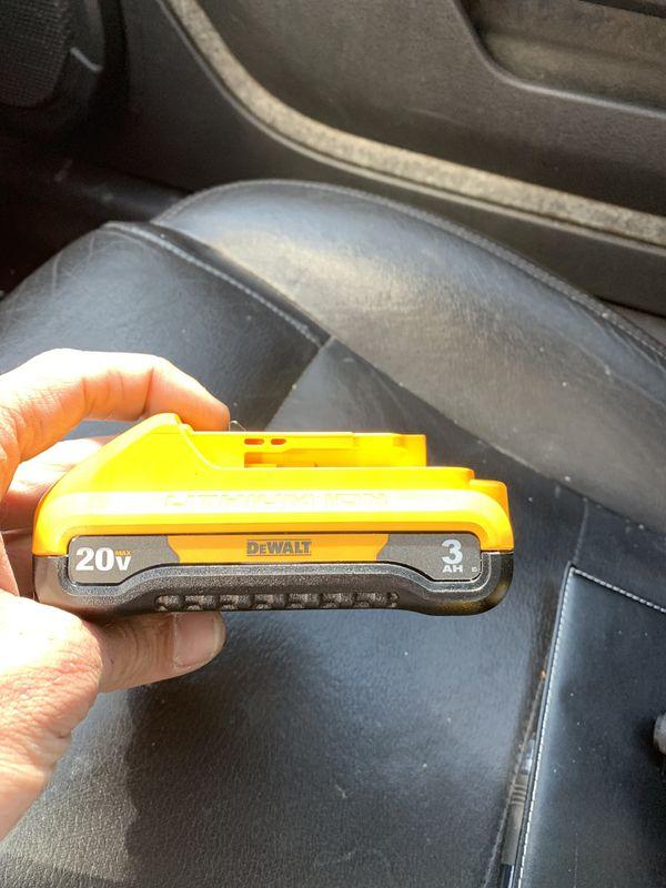DeWalt 20V 3.0ah Batteries