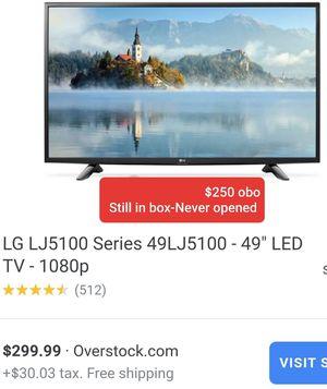 """TV-LG 5100 -49""""LED TV for Sale in Somerton, AZ"""