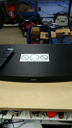 Bose Solo 15 Series II soundbar sound system Bluetooth with remote for Sale in Levittown, PA