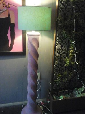 Lovely heavy floor lamp.. for Sale in McKeesport, PA