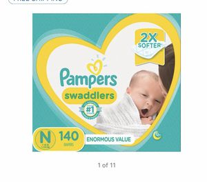 98 newborn pamper diapers for Sale in Hollywood, MD